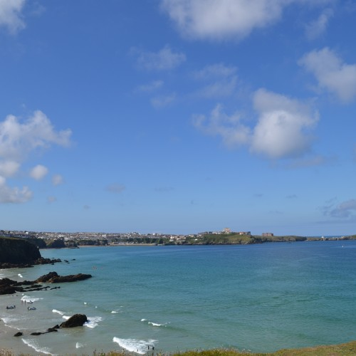 DSC_0889 View of Newquay from Lusty Glaze