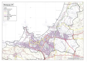 Newquay NP Boundary Map